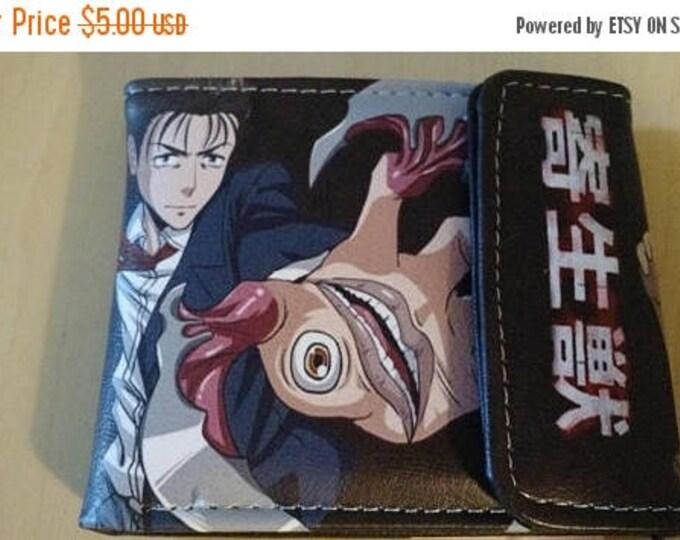 Retrocon Sale - Synthetic Leather Wallet - Parasyte: Shinichi and Migi