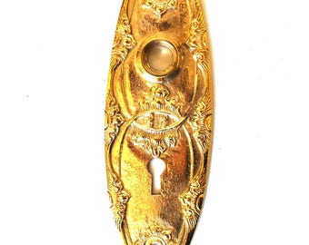 Oval Brass Door Plate Hardware Back Plate Lovely The Beverly