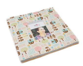 Home Sweet Home - Stacy Iest Hsu - Moda - 42 Pieces - Layer Cake - 20570LC