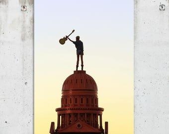 Rocker Mannequin - ACL Music Festival Photography - Zilker Park - Austin, TX - Fine Art Print - Canvas Gallery Wrap - Metal Print