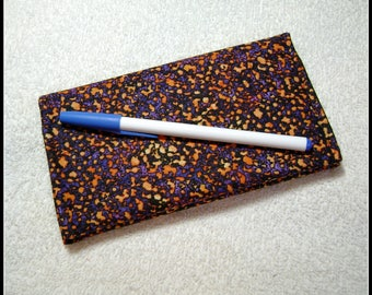Geometric - Quilted Checkbook Cover - Fabric Checkbook Covers - Checkbook - Quilted Checkbook - Cotton Fabric - CC4