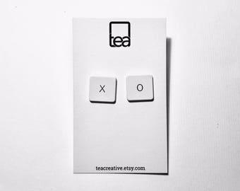XO   Keyboard Earrings