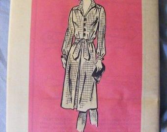 "41% OFF Vintage Anne Adams Uncut Sewing Pattern 4886 Misses' Dress Size 16 Bust 38"" Long / Short Sleeve Sleeveless"