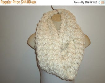 The SALE Is On SALE Beautiful Handmade knitted Infinity Scarf