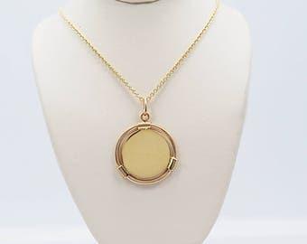 Tiffany & Company Medallion Estate Necklace Yellow Gold - J36541