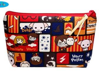 Potter Makeup Case | Zip Bag | Makeup Bag