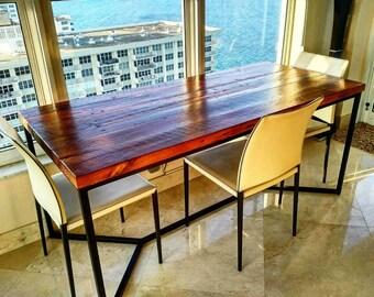 Reclaimed Modern Table