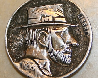Hobo Nickel Ulysses S. Grant Artist signed