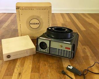 Vintage Kodak Original Working Carousel Slide Projector
