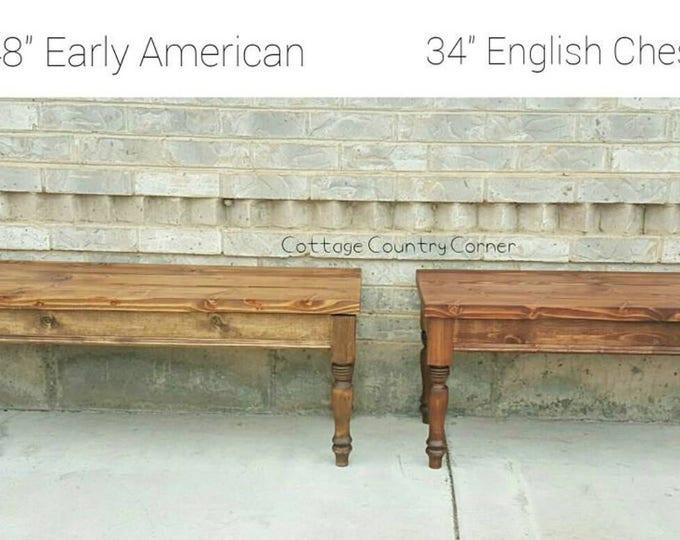 Storage Bench - Piano Bench - Wood Bench