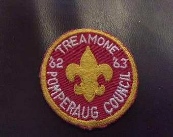 BSA 1962-1963 Treamone Pomperaug Council patch