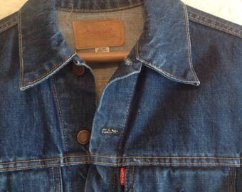 Vintage Levi's  Big E Type III denim jacket 32 inch chest