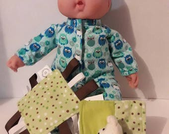 Snuggle sets for baby dolls