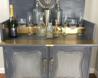 French Provencial Liquor Cabinet
