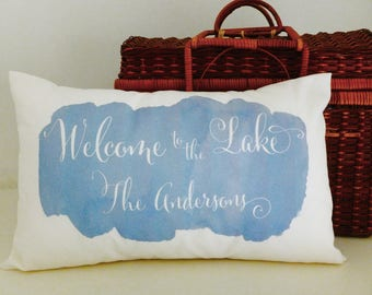 Lake House Pillow, Lake House, Lake Life, Lake House Decor, Lake House Sign, Lake House Gifts, Lake House Art