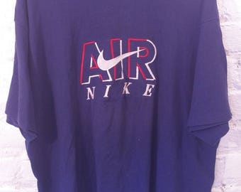 Vintage NIKE AIR Made in the USA shirt 90s 1990s street wear