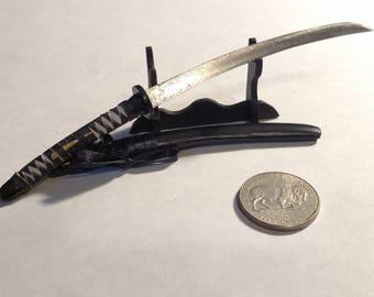 Miniature Nodachi Samurai Sword Battle Wrap