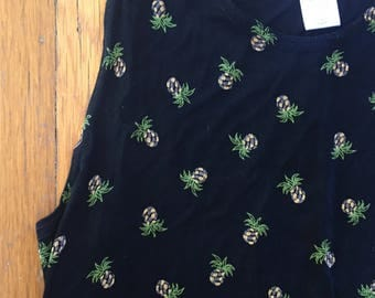 HOLD please do not purchase-  maxi pineapple dress