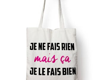 """Shopping bag, bag of course """"nothing"""""""