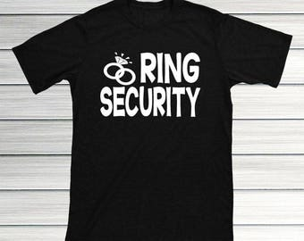 Ring Security Shirt Bearer Gift Boy Wedding Rings