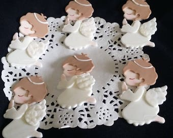 Baptism Favors , Boy Baptism Favors, Baptism Cupcake Toppers, Communion Favors, Twins Baby Baptism, Baptism Cake, Communion Cupcake Toppers