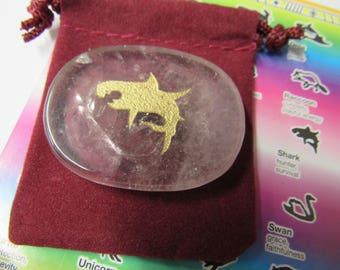 Gemstones, Animals, Shark, Totem Spirit Healing, Stones with Animals and Symbols, Medicine Bag, Spirit Totem, Reiki, Chakra,Feng Shui