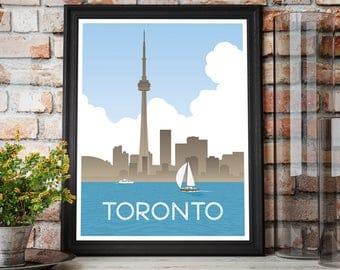 Toronto, Ontario Art Print