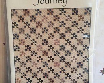 Laundry Basket Quilts Journey quilt top kit