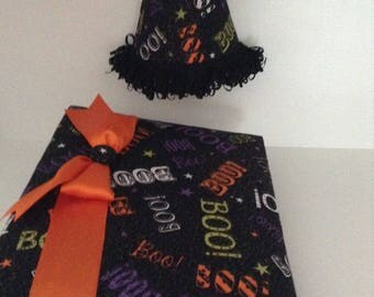 NEW OFFERING!  Fabric Covered Photo Album and Matching Nightlight Combo!  Halloween Theme!!
