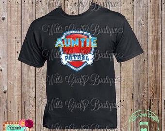 Auntie Patrol Paw Patrol T-shirt