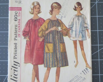 Simplicity 6074 Miss small 10-12 One Piece Pop In sewing pattern
