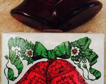 Vintage Avon Christmas Bells