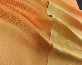 SALE! Vintage kimono silk fabric-2 pcs #7309