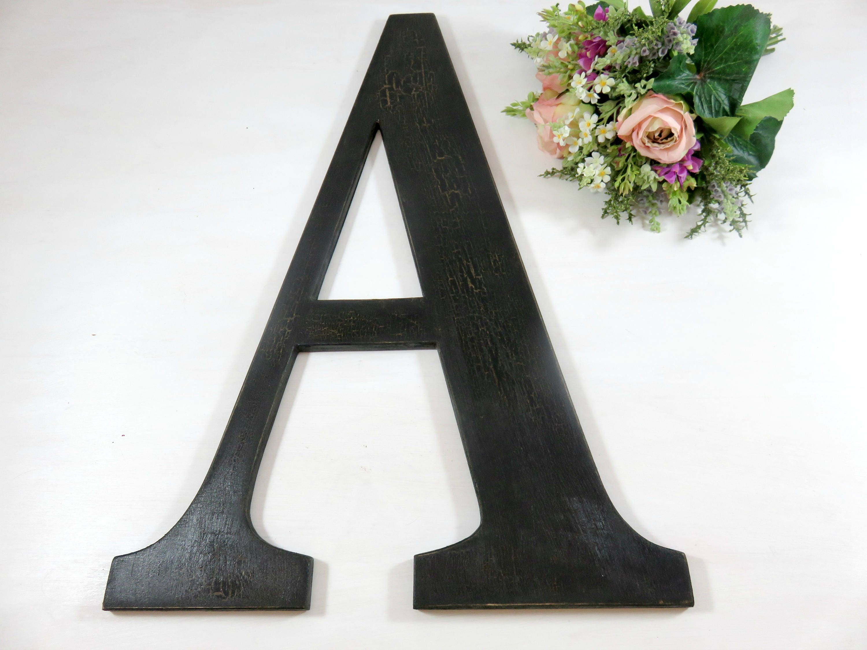 wood letters wall hanging letters large wooden letters. Black Bedroom Furniture Sets. Home Design Ideas