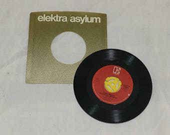 """45 Record 1978 Carly Simon """"You Belong To Me/In A Small Moment"""" 45  with original slip case Excellent"""