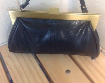 Olga Berg top handle purse, olga berg purse, olga berg vintage bag, retro olga, kitsch olga berg bag, small yet functional