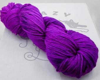 Orchid's Heart: 218 yards of 100% Superwash Merino wool in Terrestrial yarn base.