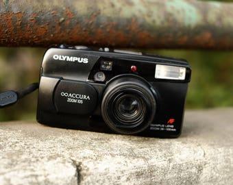Olympus mju zoom (stylus) Accura 105 - Weatherproof Vintage Compact Camera - Pretty Rare