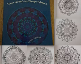 House of Nika's Art Therapy Vol. 2 colouring book