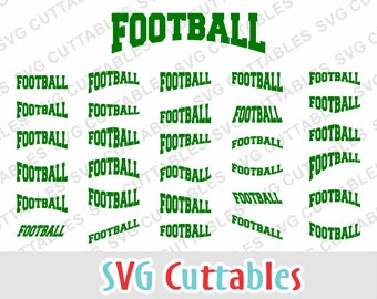 Football svg, Football layouts, Football cut file, svg, dxf, eps, Silhouette file, Cricut cut file, digital download