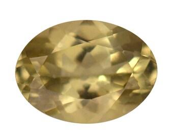 Yellow Apatite Loose Gemstone Oval Cut 1A Quality 8x6mm TGW 1.10 cts.