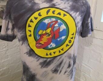 Size XL (46) ** Rare 1988 Little Feat Concert Shirt (Single Sided)