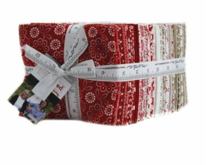Project Red by Sweetwater for Moda Fat Quarter Bundle 38FQ