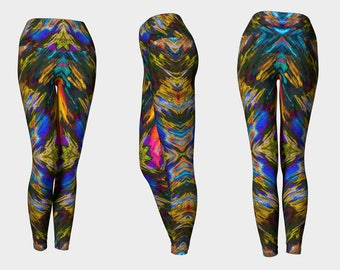 04641 Yoga Leggings: Tree Photography. Yoga Tights, Running Tights, Yoga Pants, Leggings
