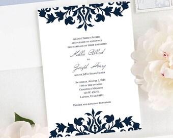 Kallie Wedding Invitation