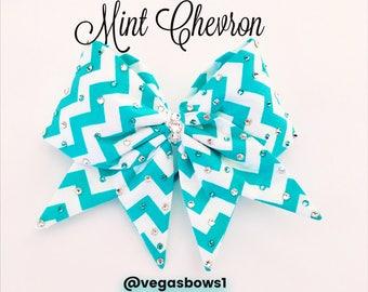Mint Chevron