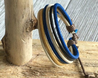 Vegan Bracelet, Vegan Jewellery, Hemp Cord Bracelet, Hemp Jewelry, Gifts Under 10 Well Made and Priced Right  HB-33