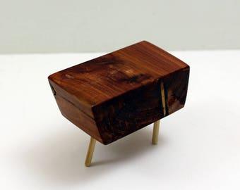 Juniper Mod Side Table - Mid Century Modern Miniature
