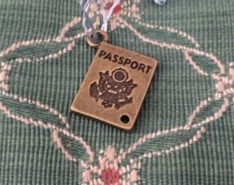 Wow great passport charm