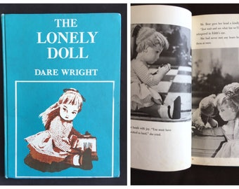1957 The Lonely Doll by Dare Wright | Doubleday | library copy